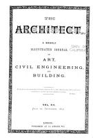 The Architect   Building News PDF
