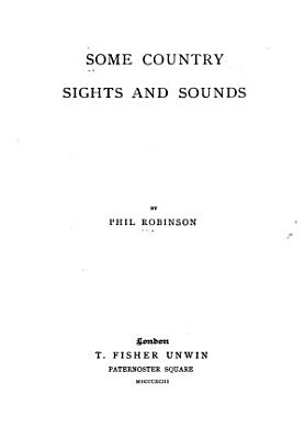 Some Country Sights and Sounds PDF