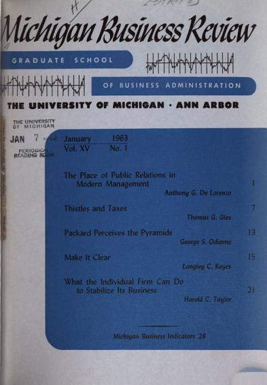 Michigan Business Review PDF