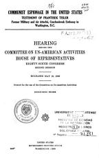 Communist Activities Among Seamen and on Waterfront Facilities PDF
