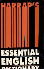 Harrap's essential English Dictionary