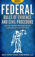 Federal Rules of Evidence and Civil Procedure 2021 PDF