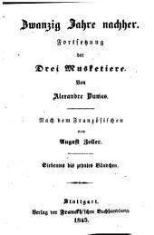 Zwanzig Jahre nachher: Fortsetzung der Drei Musketiere, Bände 7-10