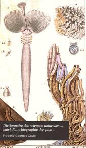Dictionnaire des sciences naturelles,.
