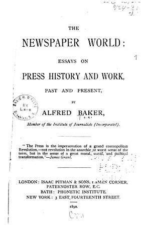 Newspaper World PDF