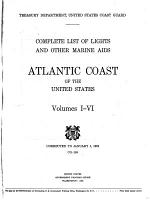 Complete List of Lights and Other Marine Aids, Atlantic Coast of the United States