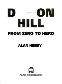 Damon Hill PDF
