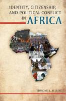 Identity  Citizenship  and Political Conflict in Africa PDF