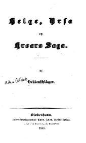 Helge, Yrsa og Hroars saga