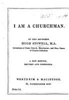 I am a Churchman  New edition PDF