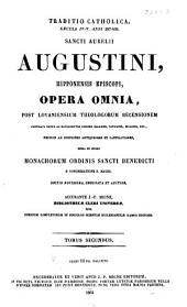 Patrologiae cursus completus ...: Series latina, Volume 33