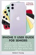 IPhone 11 User Guide for Seniors