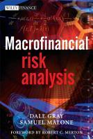 Macrofinancial Risk Analysis PDF