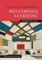 The Cambridge Handbook of Multimedia Learning PDF