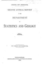 Annual Report of the Department of Statistics and Geology of the State of Indiana ... to the Governor