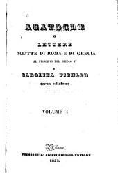 Agatocle o Lettere scritte di Roma e di Grecia: al principio del secolo iv