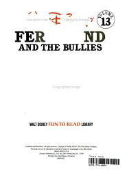 Ferdinand and the Bullies