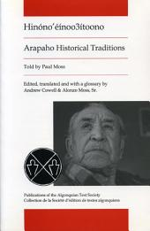 Arapaho Historical Traditions