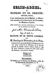 Selim-Adhel ó: Matilde en el Oriente