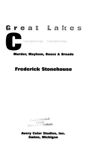 Great Lakes Crime PDF