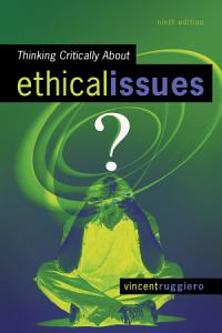 Thinking Critically About Ethical Issues PDF