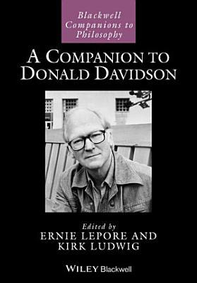 A Companion to Donald Davidson