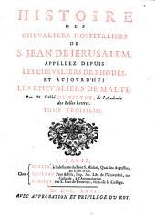 Histoire des Chevaliers Hospitaliers de Jean de Jerusalem: 3