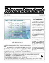 Telecom Standards Monthly Newsletter 04-10