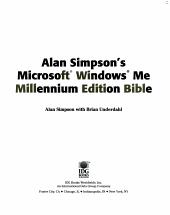 Alan Simpson s Microsoft Windows Me Bible PDF