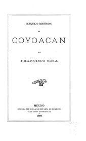 Bosquejo histórico de Coyoacán