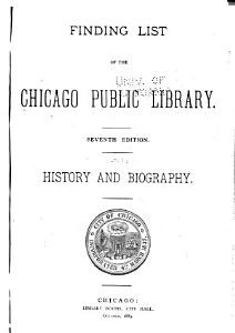 Finding List of the Chicago Public Library PDF