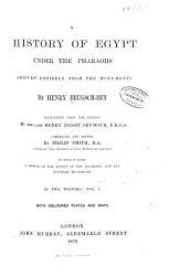 A History of Egypt Under the Pharaohs PDF