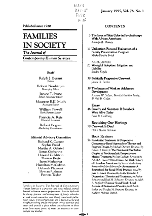 Families in Society PDF