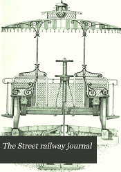 The Street Railway Journal Book PDF