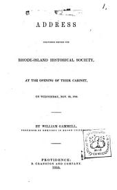 Battle of Lake Erie: A Discourse, Delivered Before the Rhode-Island Historical Society, on the Evening of Monday, February 16, 1852. By Usher Parsons, Issues 1-12