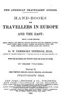 Handbook of Travellers PDF