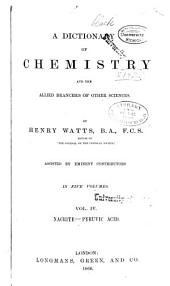 A Dictionary of Chemistry: Volume 4