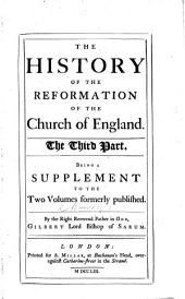 The history of the Reformation of the Church of England, etc