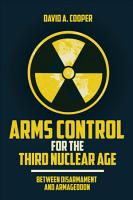 Arms Control for the Third Nuclear Age PDF