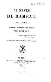 Le neveu de Rameau: dialogue