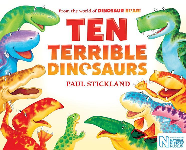Download Ten Terrible Dinosaurs Book