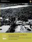 Cultural Landscape Report for Springwood  Volume II  Treatment PDF
