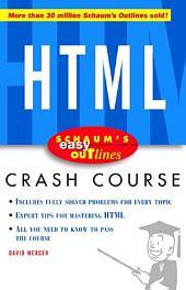 Schaum's Easy Outline of HTML