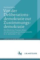 Von der Deliberationsdemokratie zur Zustimmungsdemokratie PDF