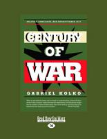 Century of War  Large Print 16pt  PDF