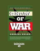 Century of War  Large Print 16pt  PDF