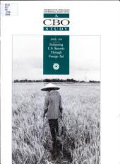 Enhancing U.S. Security Through Foreign Aid: Volume 30, Issue 11