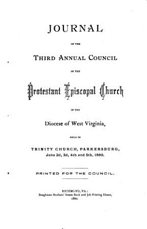 Journal of the     Annual Convention  Diocese of West Virginia PDF