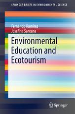 Environmental Education and Ecotourism PDF