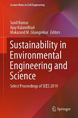 Sustainability in Environmental Engineering and Science